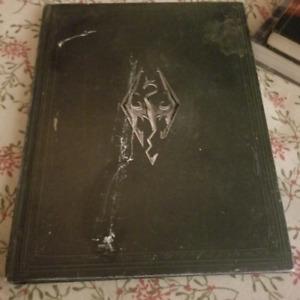 SKYRIM V The elder scrolls / leather skyrim artwork