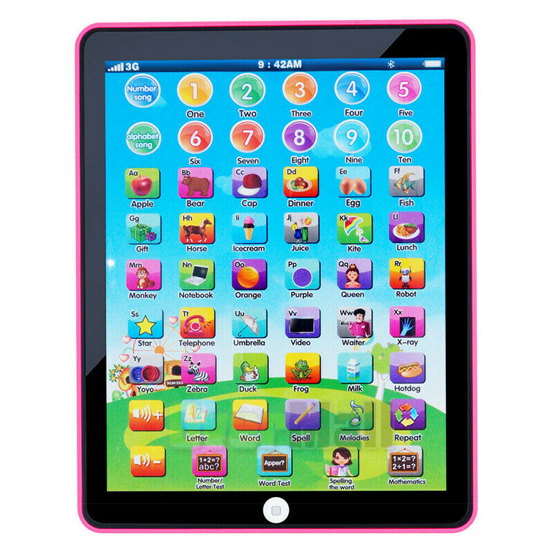 Educational Toys Baby Tablet For 1-6 year old Boy Girl ...
