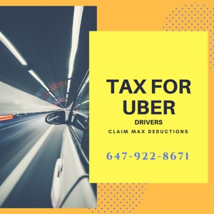 Tax for UBER drivers at affordable price