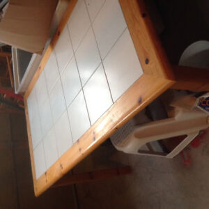 Kitchen table set with 4 chairs