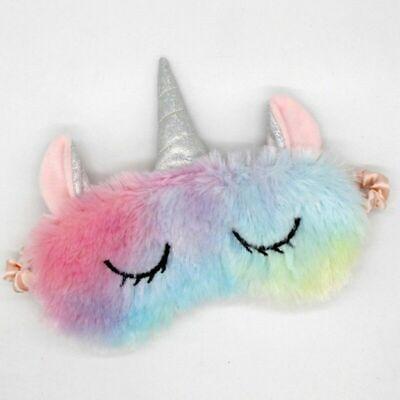 Cute Sleep Unicorn Mask Eye Shade Cover Aid for Girl Kid Teen Blindfold Gift - Girls Sleep Mask