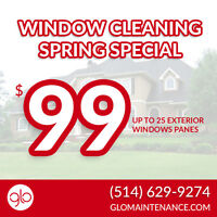 $99 Window Cleaning | Glo Maintenance ✮✮✮✮✮ Reviews