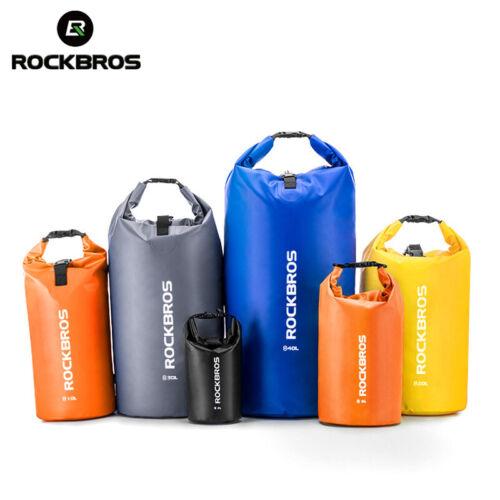 RockBros Waterproof Dry Bag Sack Floating Kayaking Camping Ocean Pack Backpack