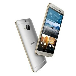 Unlocked HTC One M9 silver/gold