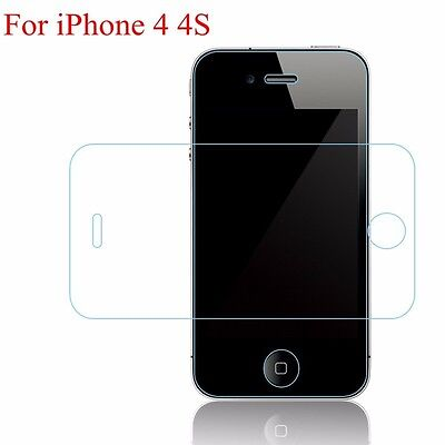 Cristal templado iPhone 4/4S 9h 2.5D. tempered glass iphone 4/4s