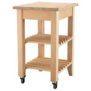 2 x Ikea BEKVÄM kitchen island / trolley