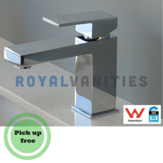 Royal - Square basin mixer - 140mm Bathroom Faucet