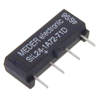 SIL241-A7271D SIL-Reed-Relais 24V= 1xEIN 2 kOhm mit Diode parallel MEDER SIA24D