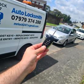 Autolocksmith - Car key- Locked keys