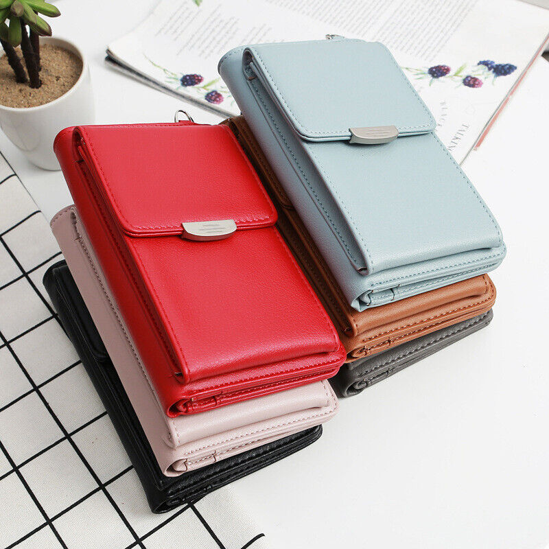 Small Crossbody Bag Cell Phone Purse Wallet with Credit Card Slots for Women US Clothing, Shoes & Accessories