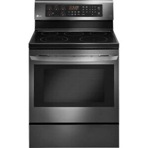 LG Electric Black Stainless Steel Range Stove 6.3 cu. ft.