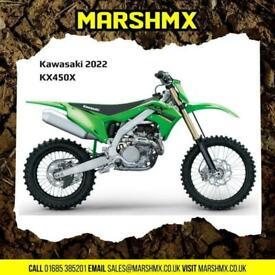 Kawasaki KX450X 2022 Model, Uk Machine,6 Mth Warranty,Nil Deposit Finance