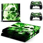 126 Sticker skin wrap ps4 stickers playstation 4 + 2x contro