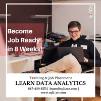 Learn Data Analytics! Training & Job Placement! Register Today!