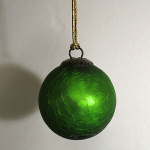 Fabulous Ornaments Christmas Green 14 Pieces