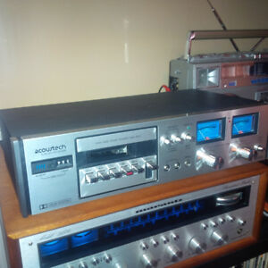 Tape deck- Acoustech, Slot loading, Made in Japan 1970's
