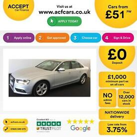 Audi A4 2.0TDIe ( 136ps ) 2013MY SE Technik FROM £51 PER WEEK!