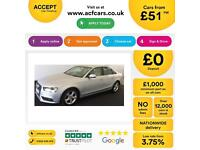 Audi A4 2.0TDIe ( 136ps ) 2013MY SE Technik FROM £51 PER WEEK!