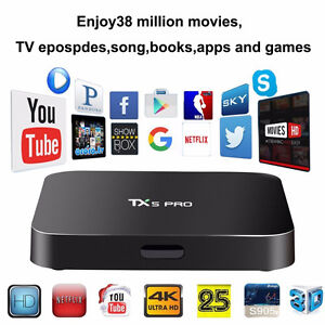 BEST ANDROID BOX  FAST S905X CPU 2G/16G