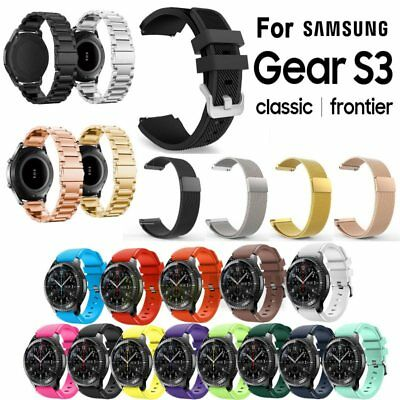 Sports Silicone / Milanese / Stainless Steel Watch Bands For Samsung Gear S3 USA