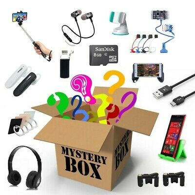 Caja misteriosa Productos accesorios movil informática sonido telefonia sorpresa
