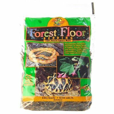 Zoo Med Forrest Floor Bedding - All Natural Cypress Mulch 4 Quarts (Cypress Mulch)