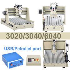3/4 Axes 1500W 3020 3040 6040 USB CNC Router Graveur Fraiseuse Engraving Milling