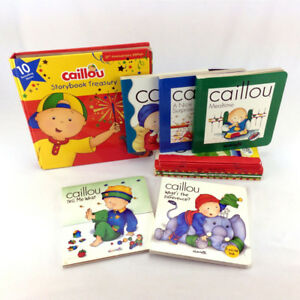 Lot 26 Caillou Books Picture Storybooks Popular Kids Series Ages
