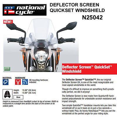 <em>VICTORY</em> <em>JUDGE</em> 2013 16 NATIONAL CYCLE DEFLECTOR QUICKSET WINDSHIELD N25