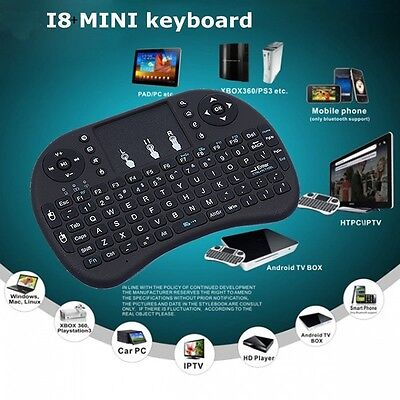 i8+ 2.4GHz Wireless keyboard Air Mouse Remote For Android Win TV BOX Mini PC #C
