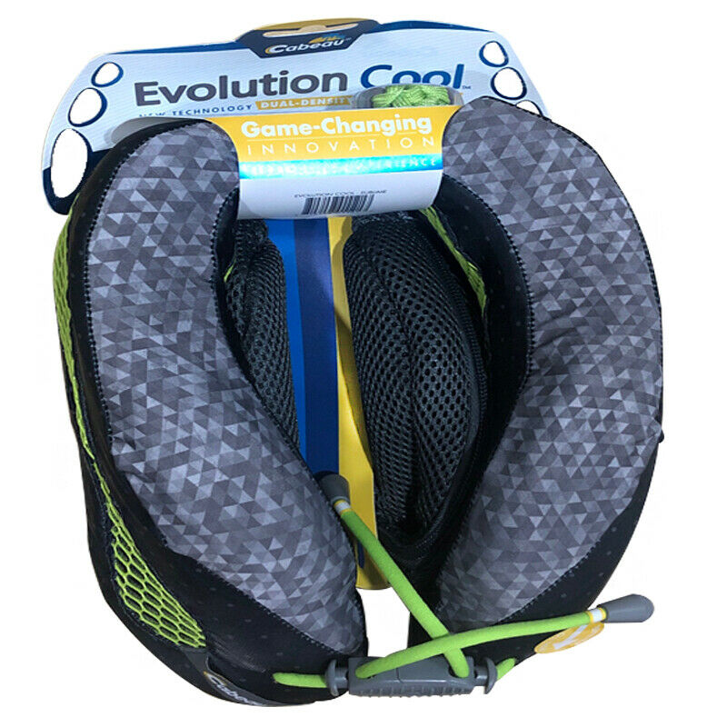 evolution neck memory foam pillow plane travel