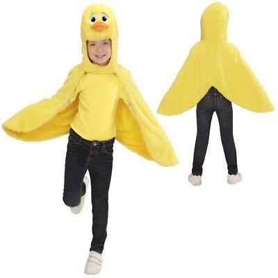 Ente Enten Cape Überwurf Kleinkinder Plüsch Kostüm - Kinder 2-4 Jahre Tierkostüm