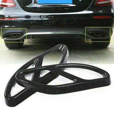 2pcs Auspuffblende Auspuff Abdeckung für Mercedes Benz GLC GLE GLS C E Klasse DE