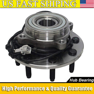 Front Wheel Bearing and Hub 8 Stud for 2000 2001 2002 Ram 2500 3500 ABS 4x4
