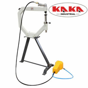 19-In Throat Pneumatic Planishing Hammer with Cast-Iron Stand