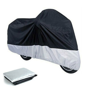XL-L-Large-Motorcycle-Motor-Bike-Scooter-Waterproof-UV-Dust-Protector-Rain-Cover