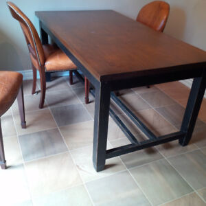 Solid Wood French Country Harvest table