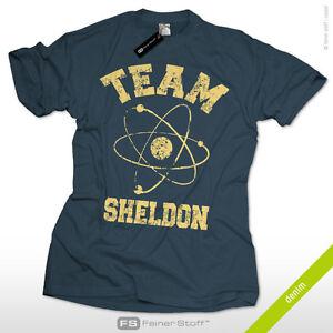Team Sheldon Fun Nerd T-Shirt big bang dvd theorie theory penny cooper bazinga