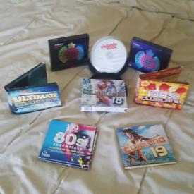 Assorted mixed various cds