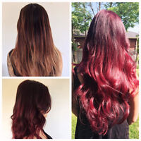 valentine's Day Special $275 Full head Tape Extensions