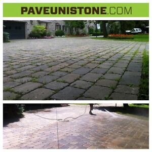 HIGH PRESSURE CLEANING - CONCRETE - PAVERS - UNISTONE - DRIVEWAY West Island Greater Montréal image 8
