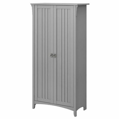 Bush Furniture Salinas Tall Storage Cabinet with Doors in Ca