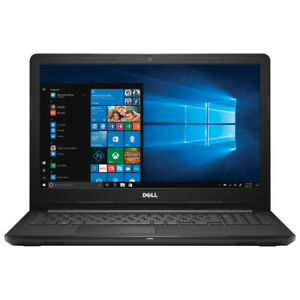 "New Dell Inspiron 15.6"" Laptop - Black (Intel Core i3-7130U)"