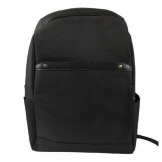 Black Back Pack with Lap Top Compartment