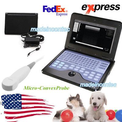 Usa Veterinary Pregnancy Ultrasound Scanner Portable Laptop Machine Catdog Use