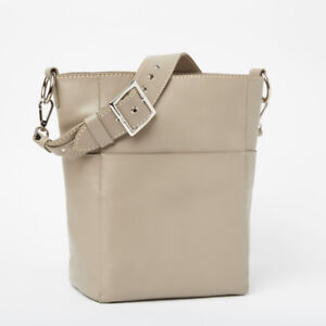 NEW Beautiful Roots Purse in Pearl Grey/Taupe