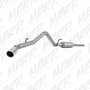 "MBRP 3"" cat-back exhaust for new style GM pickup S5080AL REDUCED"