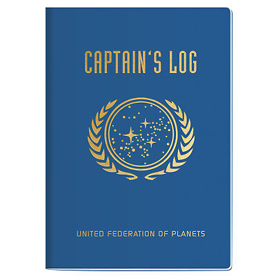 Star Trek: Notizbuch Captain´s Log groß