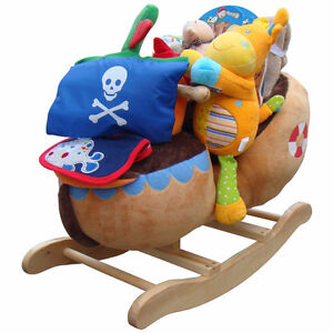 Ships Ahoy - Baby gift basket riding toy
