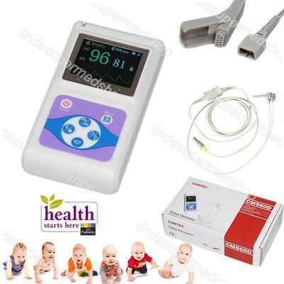 Neonatal Kids Borninfantpediatric Use Pulse Oximeter Spo2 Pr Monitor Cms60d